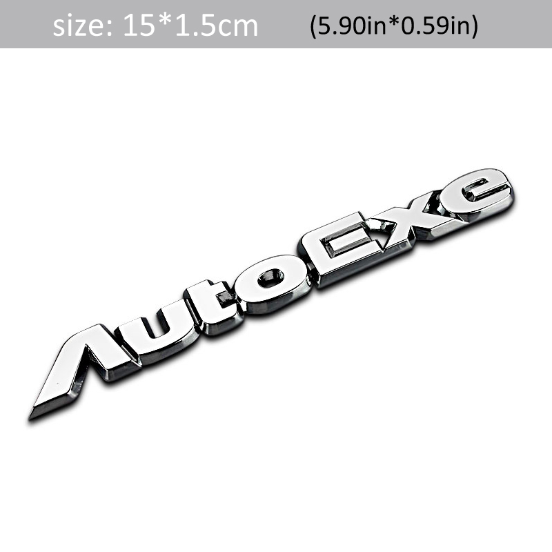1Pcs Car Sticker for MS Mazda Sport Accessories Emblem Badge Decal Logo Aluminum