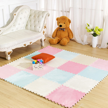 Baby Foam Puzzle Play Mat / Children's Rugs Toy Carpet for Children Interlocking Exercise Floor Tiles, Each: 26cm X 26cm(China)