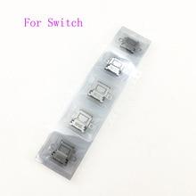 20 Chiếc Cho NS NX Ban Đầu Mới USB Loại C Sạc Ổ Cắm Cắm Điện Cho Máy Nintendo Switch Tay Cầm