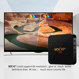 Image 5 - 4GB 64GB אנדרואיד 9.0 MX10 בתוספת חכם טלוויזיה תיבת 2.4G/5G Wifi Allwinner H6 BT 4.0 סט Top Box 6K 3D Quad Core מדיה נגן 4GB 32GB