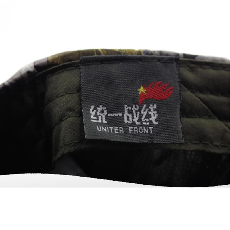 camuflagem verão balde chapéu de acampamento chapéu selva transporte da gota