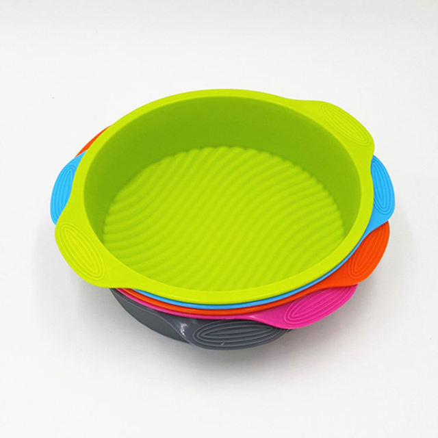 3D Silicone Cake Round Pan