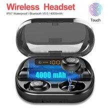 9D Stereo Sport Headphone with 4000mAh Power Bank Wireless Bluetooth 5.0 Earphon