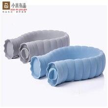 Jordan & Judy botella de agua caliente tipo U de 710ml, calentador de silicona para cuello, calentador de manos, cubierta de punto, bolsa cálida inteligente de xiaomiyoupin