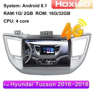 Android 8.1 car radio multimedia video player for Hyundai Tucson IX35 2015 2016 2017 2018 4G WIFI RAM 2G Navigation GPS 2DIN