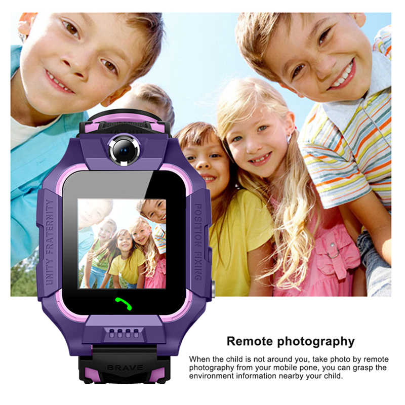 Умные часы LBS Kid SmartWatch Детские часы Дети SOS Вызов локатор трекер анти потеря монитор детские часы Relogio Infantil