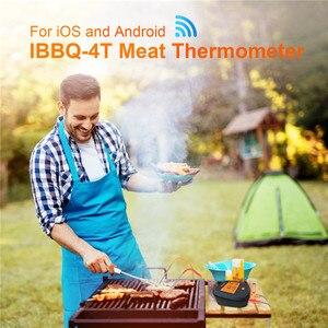 Image 5 - Inkbird wi fi肉デジタル温度計IBBQ 4Tバーベキュー温度計 4 プローブ 2000 3600mahの充電式バッテリーキッチン喫煙グリル