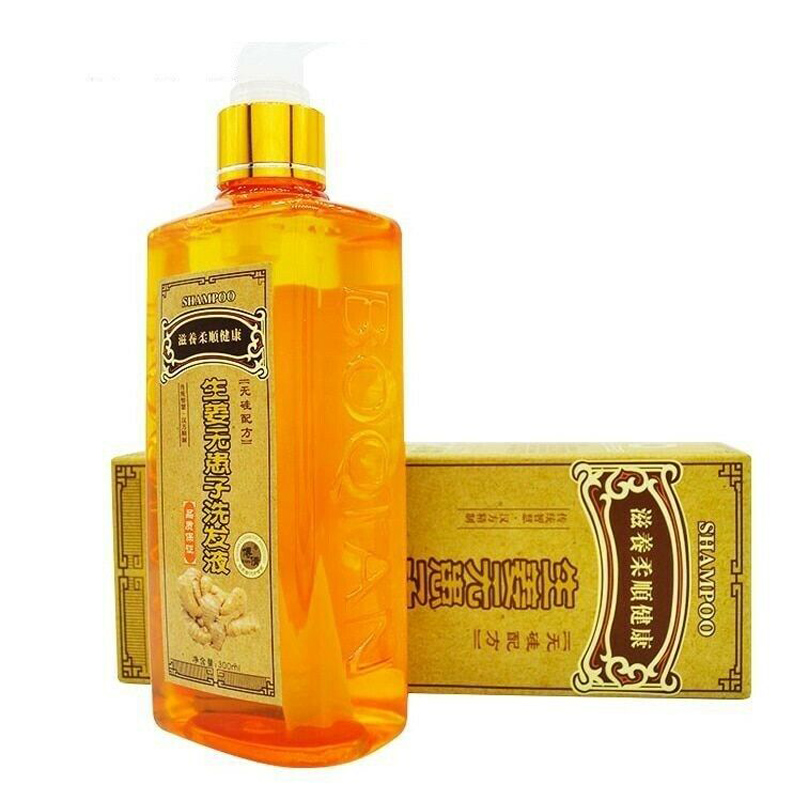 Ginger Shampoo Anti Hair Loss Baldness Dandruff Effective Nourishing Moisturizing MP789
