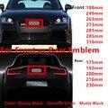 4 кольца высокого качества ABS 3D Автомобильная капота передняя крышка гриль задний багажник эмблема значок Логотип для Audi автомобильный Стай...