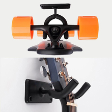 2pcs Guitar Wall Mount Hanger Strong Load Bearing Stand Acoustic Electric Bass Guitars Hooks  JA55