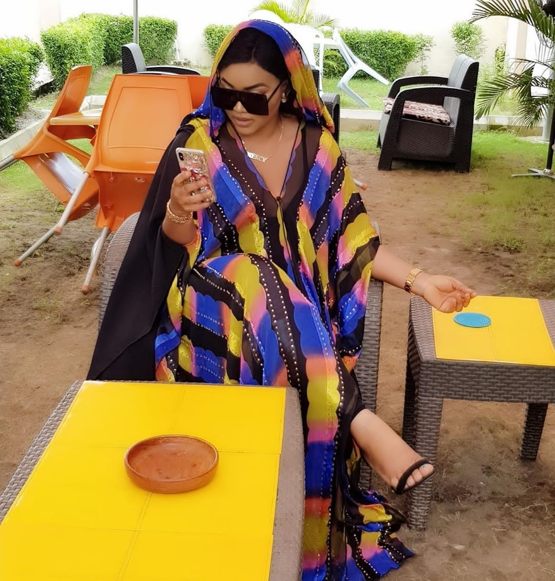 Image 4 - Autumn Long Sleeve African Dresses For Women Africa Clothing  Muslim Long Dress High Quality Length Fashion African Dress LadyAfrica  Clothing