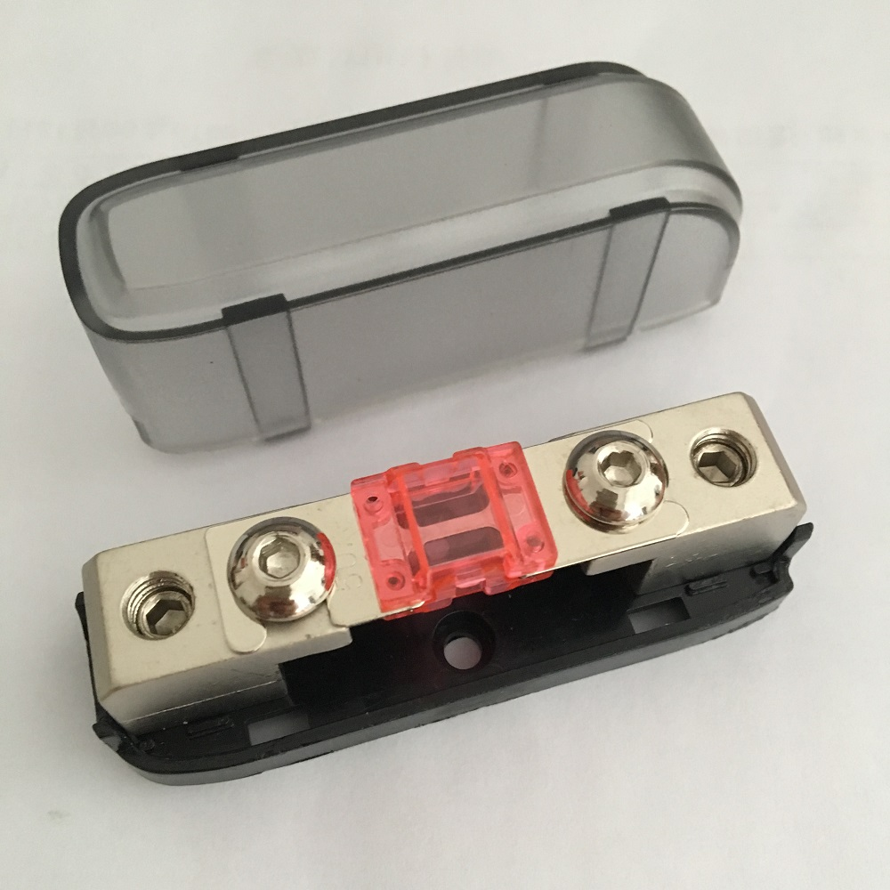 Plug and Play Durable 8 Ways Fuse Holder Distribution Block 60A 12V