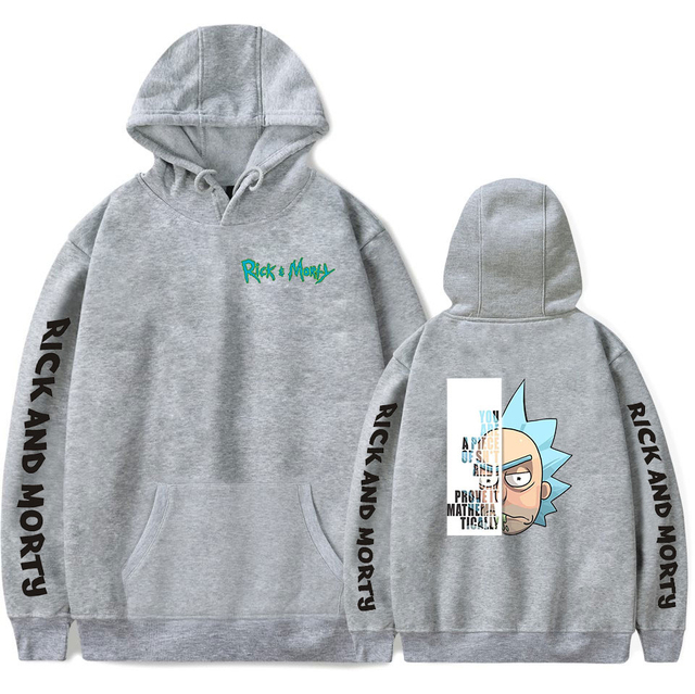 RICK AND MORTY SEASON 4 HOODIE (24 VARIAN)