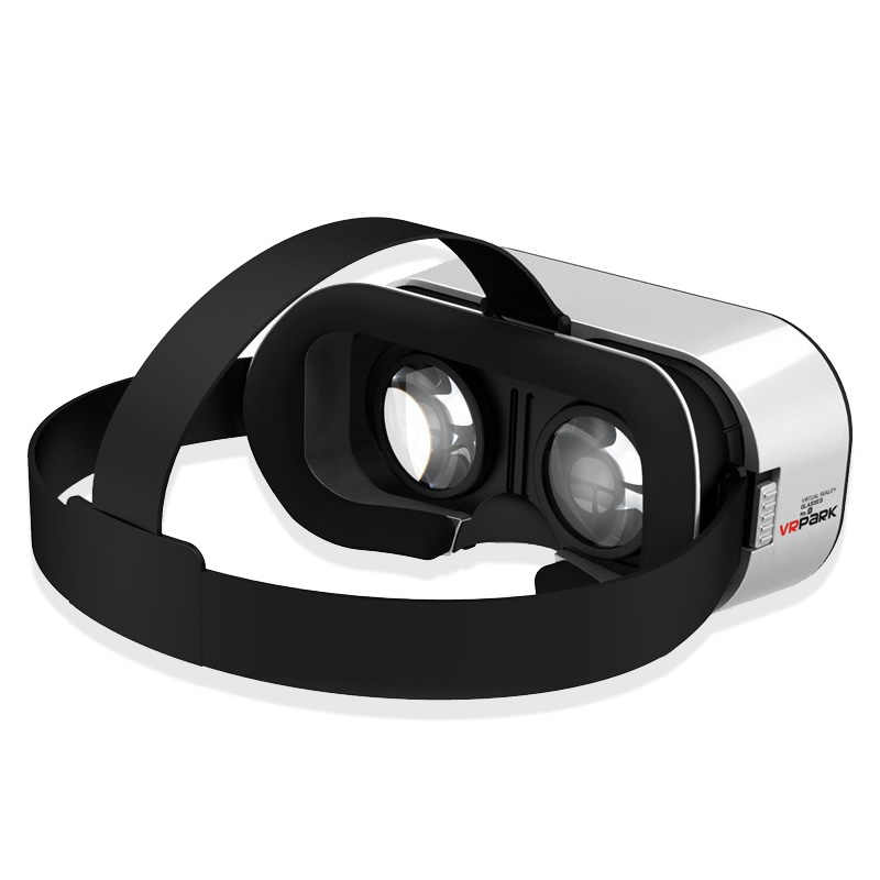 Vrpark V5 3D VR Virtual Reality Kacamata Vr Kotak 3 D Kacamata Film Kacamata Kacamata Headset Helm Perangkat untuk Ponsel android IOS