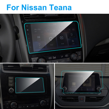 For Nissan Teana 2008-2019 Interior Car GPS Navigation Screen Protector Tempered Glass Screen Protective Film Car Accessories image