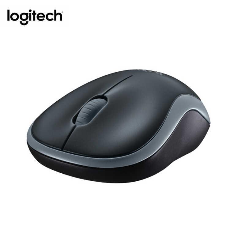 メーカー改装: ロジクール M185 マウス 2.4G ワイヤレスマウスラップトップ Pc のコンピュータマウス Usb ナノレシーバー