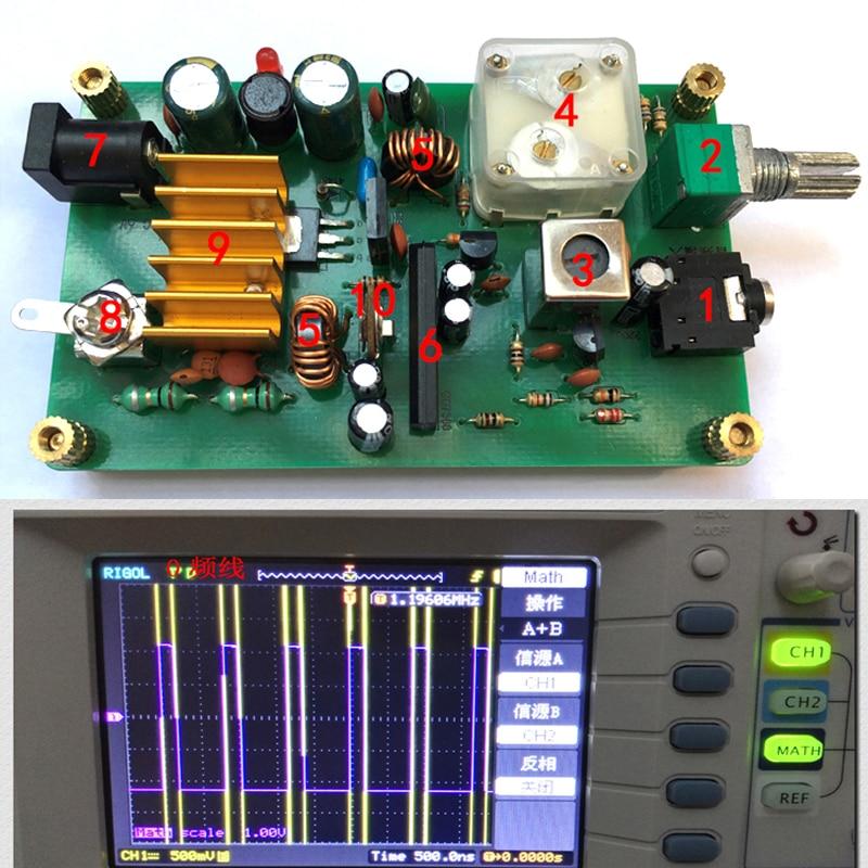 Dykb Micropower Medium Wave Transmitter , Ore Radio Frequency  600-1600khz