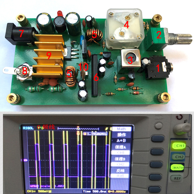 dykb Micropower medium wave transmitter , ore radio Frequency  600 1600khz