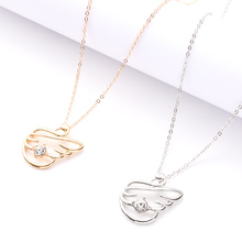 New Ainc Alloy Charm Necklace Snake Pattern Stainless Steel Gold And Silver Chain Ladies Beautiful Geometric Pendant Girl Jewelr