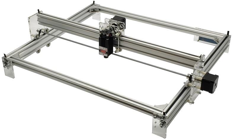2 axis laser machine Desktop DIY big Laser Engraving Machine Picture CNC Printer - 2