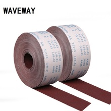 100 Meter 600-1500 Grit Emery Cloth Roll Polishing Sandpaper For Grinding Tools Polishing Metalworking Dremel