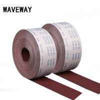 100 Meter 600 1500 Grit Emery Cloth Roll Polishing Sandpaper For Grinding Tools Polishing Metalworking Dremel