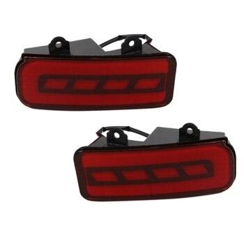 Red LED Rear Bumper Tail Brake Light Lamp for Honda CRV 2015-2016