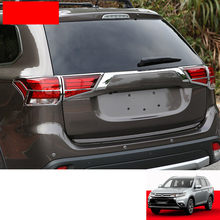 Lsrtw2017 Abs Car Rear Foglight Frame Trims for Mitsubishi Outlander 2013 2014 2015 2016 2017 2018 2019 2020 oem ptf fog light lamps kit for mitsubishi outlander outlander sport aux 2013 2014 2015 2016 2017 2018 2019