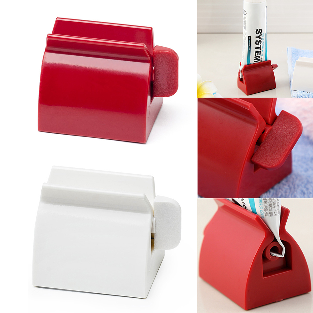 1PC Rolling Tube Toothpaste Squeezer Dispenser Toothpaste Seat Holder Stand Roller Bathroom Set Accessories High Quality