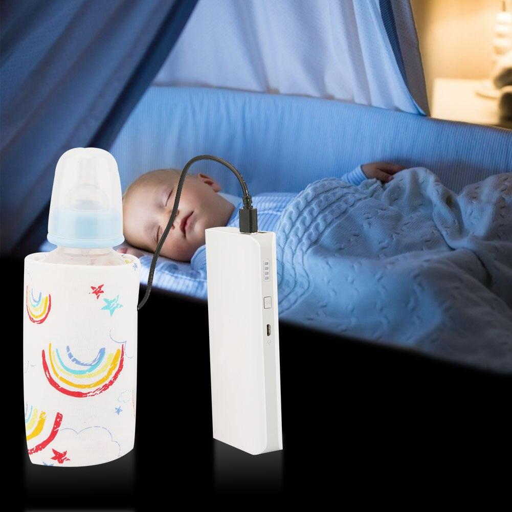 USB грелка для детских бутылочек портативная чашка для путешествий с молоком подогреватель бутылочка для кормления для младенцев сумка для ...