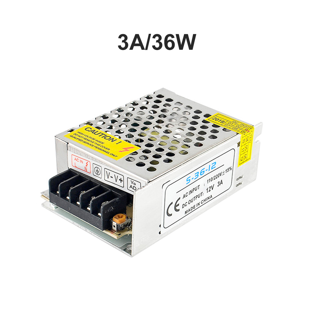Lighting Transformers Led Driver Power Adapter For Led Strip Light Switch Power Supply Dc 12V Lighting Transformers Switching