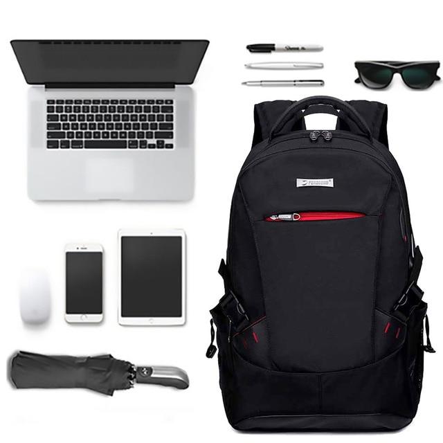 موضة الذكور على ظهره النايلون متعددة الوظائف الرجال على ظهره حقيبة كتف طالب بنين حقيبة مدرسية Mochilas الذكور حقيبة المدرسة