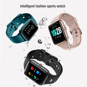 Image 2 - ID205L Smart Watch Color Screen Bracelet Waterproof Sports Pedometer Fitness Running Walking Tracker Heart Rate for IOS Android