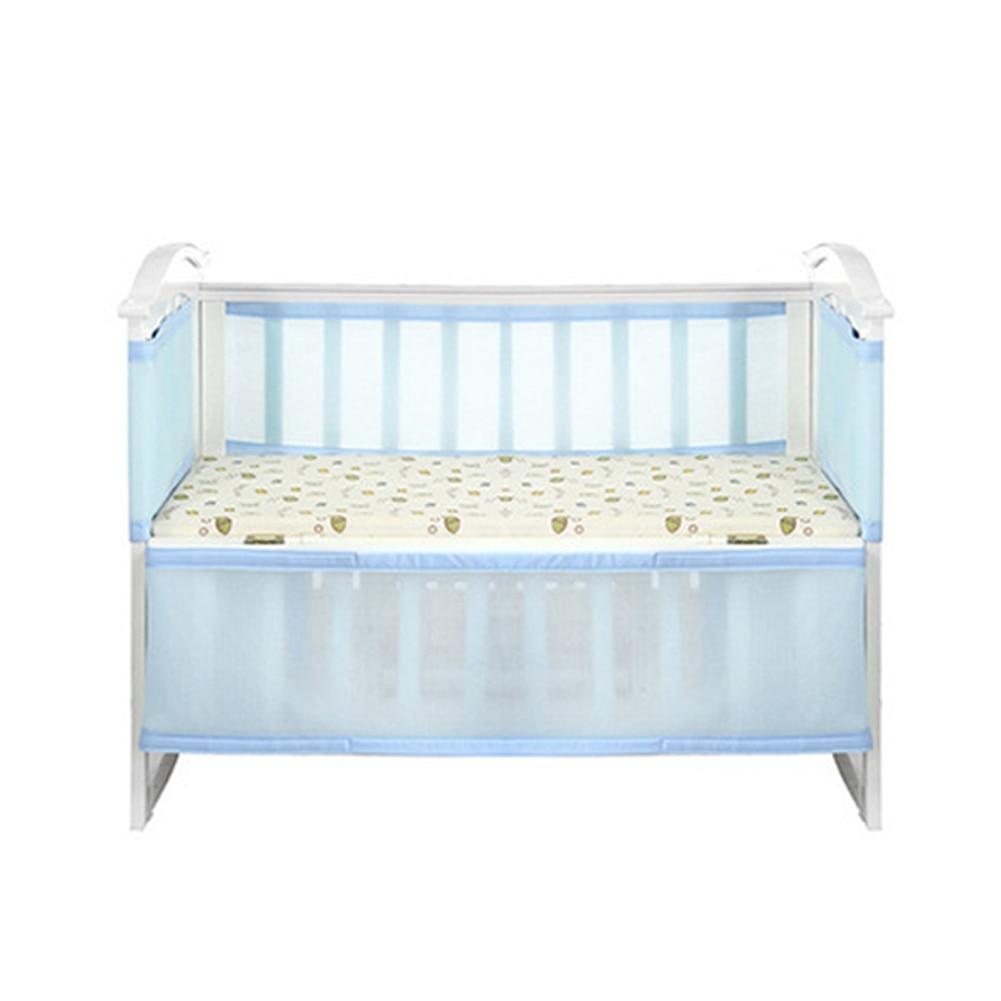 Nursery Bedding Crib Bumper Collision-Proof Kids Safety Nursing Breathable Home Baby Newborn Detachable Guardrail Washable