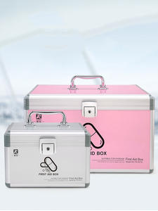 Medicine-Box Storage-Box First-Aid-Kit Health-Organizer Children Large Family-Equipment
