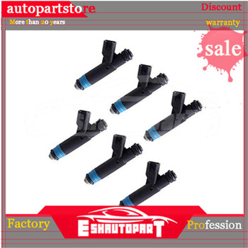 6 Pcs 04861238AC NEW Fuel Injector for Dodge Pacifica 05-07 Chrysler 05-08 OEM Flow Car Engine Injector Fuel Nozzle Injector