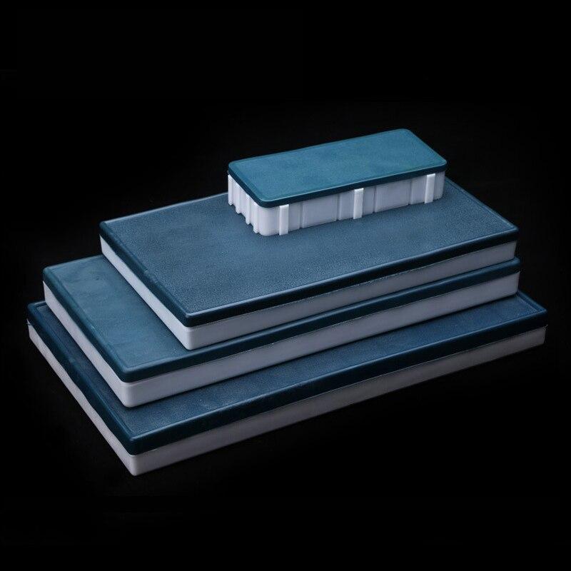 10/44/58 Grid Thicken Pigment Box Plastic Watercolor/Gouache/Oil/Acrylic Portable Moisturizing Splited Paint Palette Box