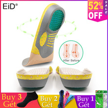 Buy EiD PVC Orthopedic Insoles Orthotics flat foot Health Sole Pad for Shoes insert Arch Support pad for plantar fasciitis Feet Care directly from merchant!