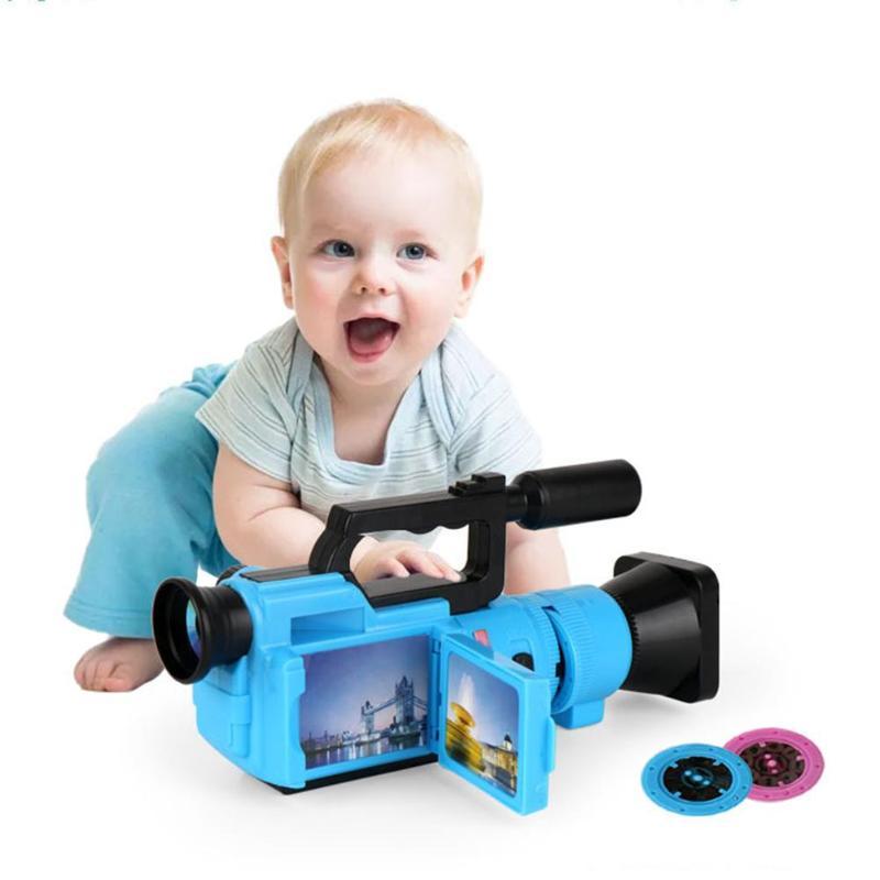 Practical Simulation Camera Toys Early Education Novelty Gifts Toys Fun Storyline Plot Increase Imagination Interest Training
