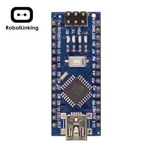 Image 2 - Nano 3.0 denetleyici uyumlu UNO CH340 USB sürücü ile kablo Nano V3.0 ücretsiz kargo