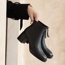 Женские ботильоны; Обувь из натуральной кожи; Короткие ботинки;