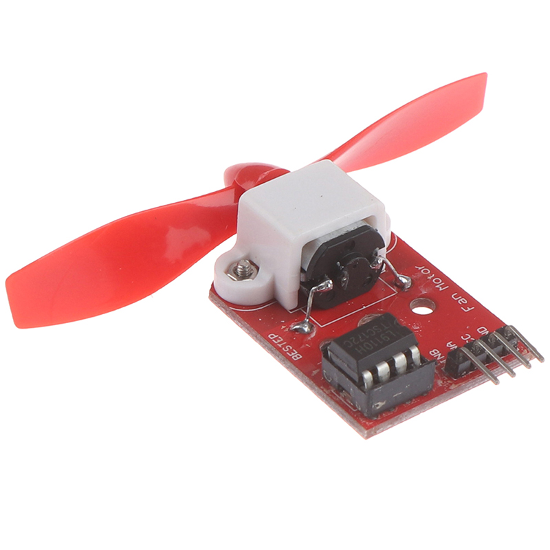 1Pc 5V L9110 Fan Motor Module Fan Propeller Firefighting Robot For Arduino Tool Parts