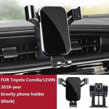 Uchwyt samochodowy do telefonu Toyota Corolla Levin 2013-2021 rok gravity uchwyt na GPS dedykowany wylot wentylacyjny wspornik nawigacyjny tanie i dobre opinie CN (pochodzenie)