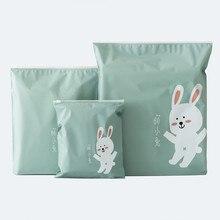3 шт. креативные дорожные портативные разные сумки для хранения с рисунком из мультфильма практичные водонепроницаемые сумки с ремнем для хранения одежды YL5