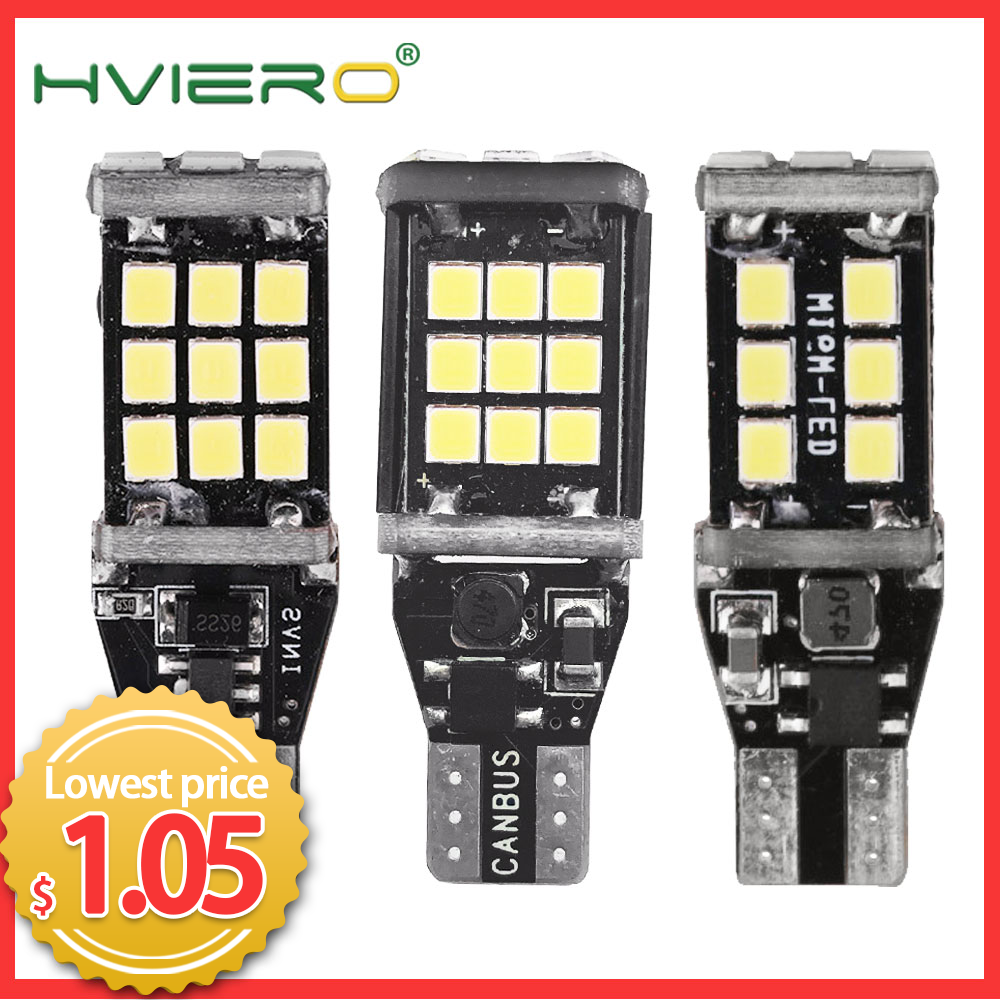 T15 W16W 1156 BA15S Reverse Light Bulbs 2835 15SMD 21SMD 24SMD 30SMD 45smd Backup Parking Light Auto Led Bulb Flame Lamp Cob Led