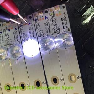 Image 2 - New  40PCS/lot 7LED(3V) 618mm*18mm LED backlight TV strip Bar GJ 2K15 D2P5 315 D307 V1 for 32 Inch TV 32HHA5857 LM315WF1