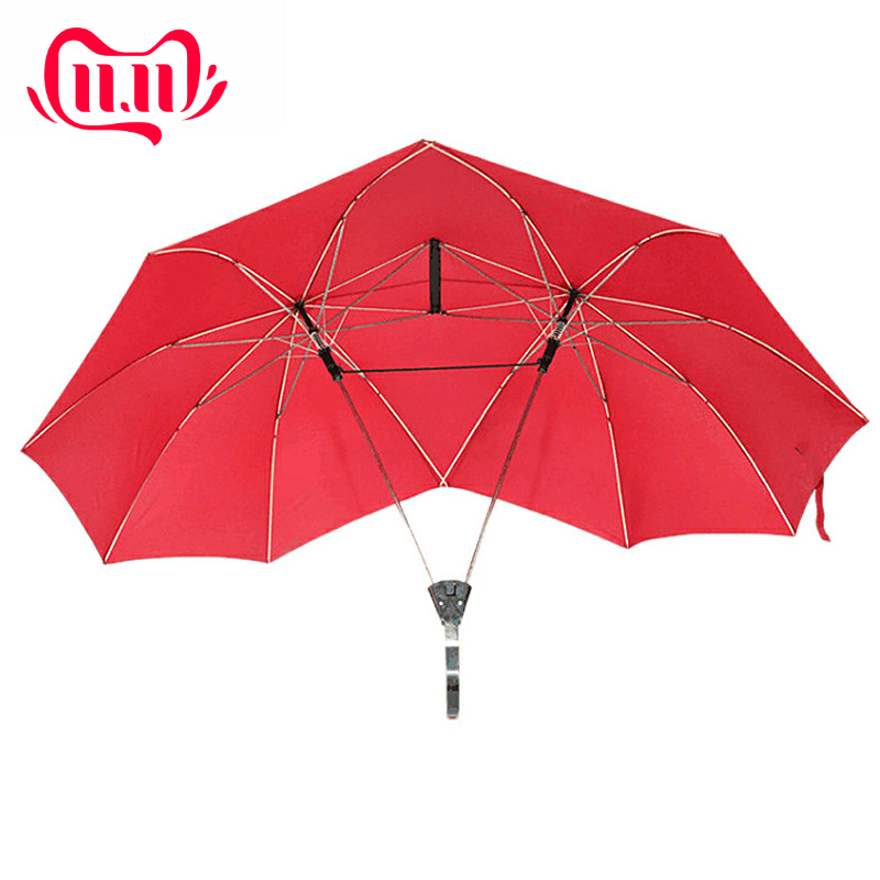 Azure Dragon Automatic Tri-Fold Umbrella Parasol Sun Umbrella Sunshade