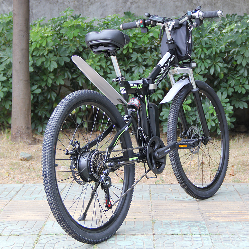 "1000W 48V 26 "" Carbon Steel electric bike with 13AH lithium battery e MTB 26 ""Carbon Steel electric e-bike 1"