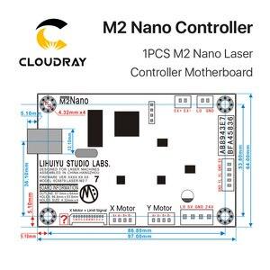 Image 5 - Cloudray LIHUIYU M2 ננו לייזר בקר ראשי אם לוח + לוח בקרה + Dongle B מערכת חרט קאטר DIY 3020 3040 K40