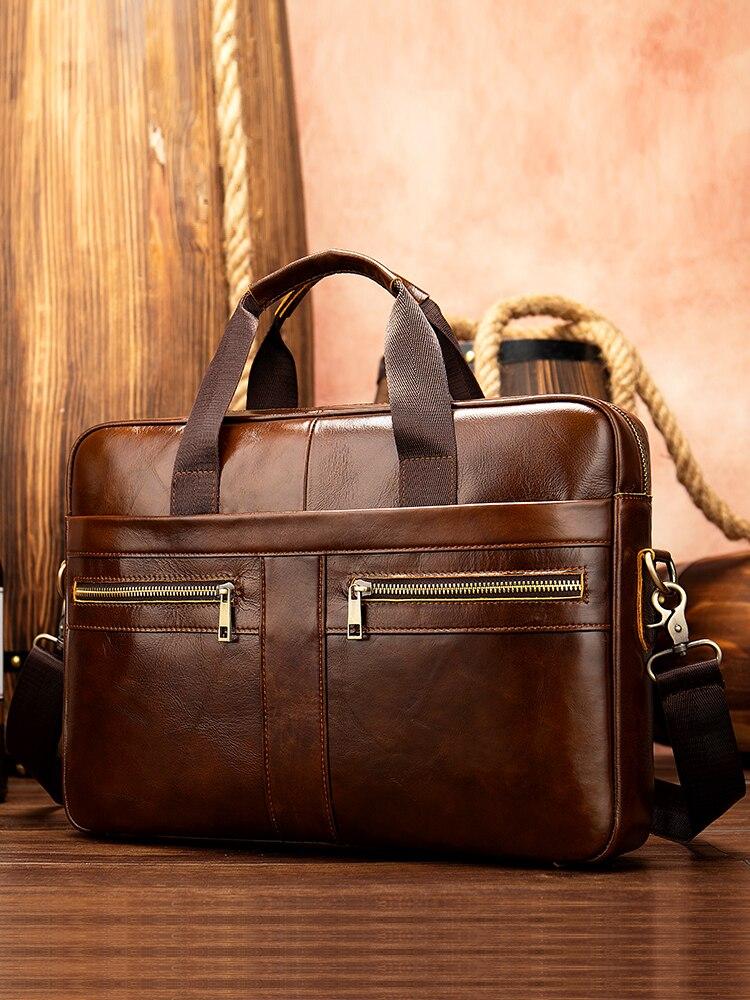 WESTAL Bags Briefcases-Bag Laptop-Bag Documents Men's for 209